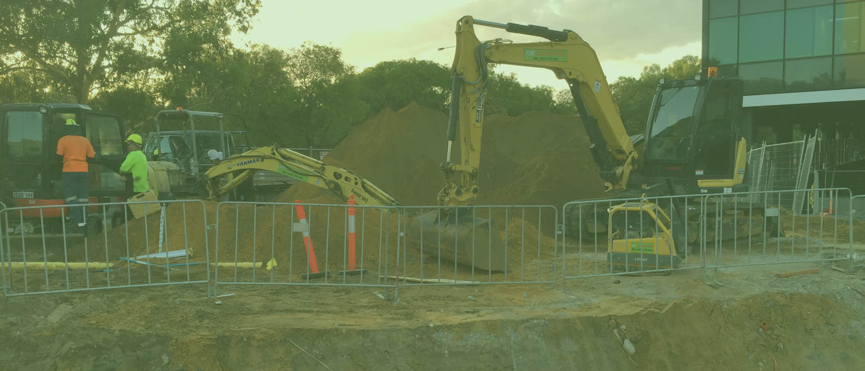 a.m. earthmoving at joondalup health campus