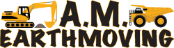 AM Earthmoving logo main