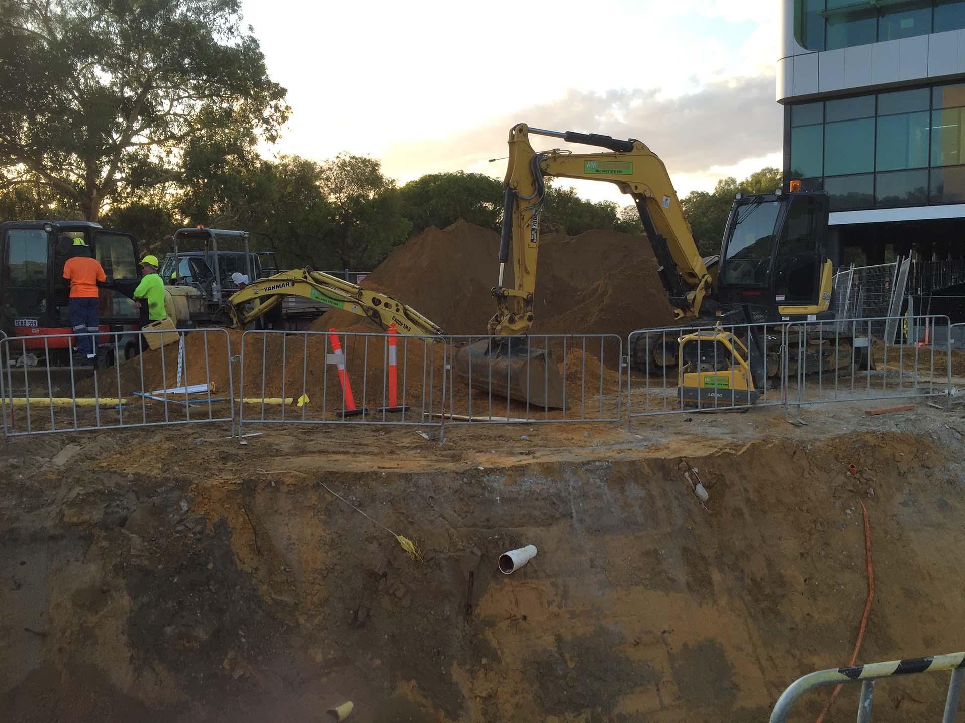 joondalup health campus a.m. earthmoving